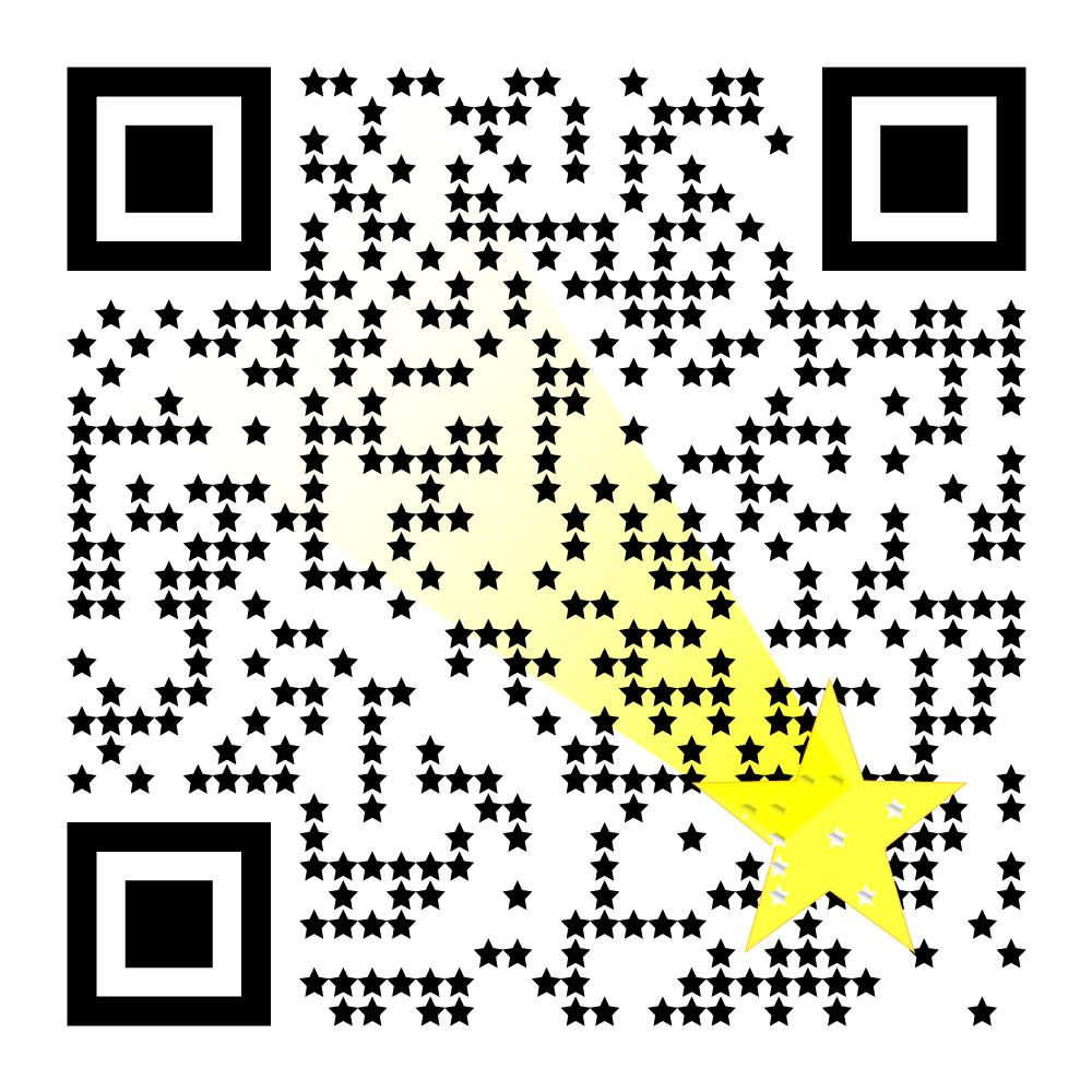 流れ星合成とドットを☆デザイン